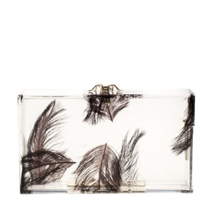 Charlotte Olympia Perspex White Clutch
