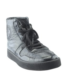 Gucci Sneakers Leather Black Boots