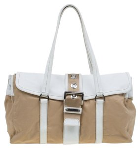 6a7d8ee1adc6 Beige Prada Satchels - Up to 90% off at Tradesy