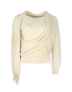 Chanel Scarf Knit Sweater