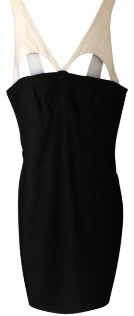 Item - Black/White Los Angeles Short Night Out Dress Size 2 (XS)