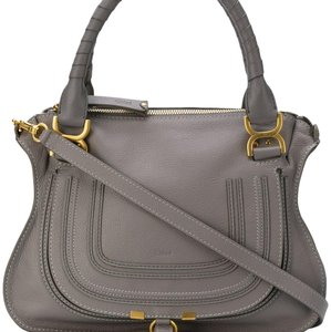 Chloé 9aclst004 Satchel in Gray