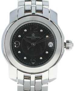 Baume & Mercier Baume & Mercier Ladies Capeland Watch - Stainless Steel Quartz U0668