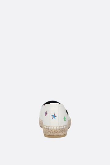 791b5b3baa Saint Laurent Multicolor Fun Star Canvas Print Flats Size EU 39.5 (Approx.  US 9.5) Regular (M, B)