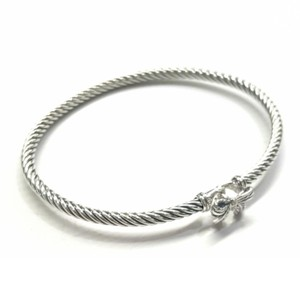 David Yurman FANTASTIC!! David Yurman Sterling Silver Ribbon Bracelet with Pavé Diamonds
