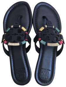 509510fb3082c Tory Burch Black Sandals · Tory Burch. Black Embroidered 9.5m Miller Miller  Sandals.  208.50  228.00. US 9.5
