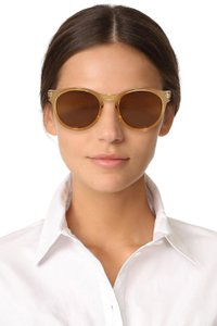 56666fbbd6 Le Specs Blonde Hey Macarena Polarized Sunglasses - Tradesy