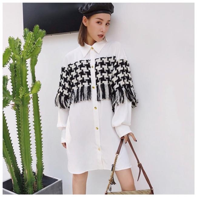 Preload https://img-static.tradesy.com/item/24806997/black-and-eggshell-white-basket-weave-long-c22-button-down-top-size-8-m-0-0-650-650.jpg
