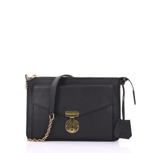 Céline Leather black Clutch