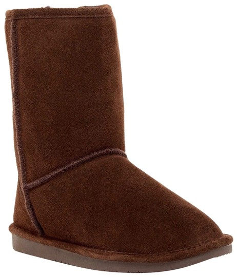 Preload https://img-static.tradesy.com/item/24807354/brown-suede-cozy-shearling-lined-short-bootsbooties-size-us-7-regular-m-b-0-1-540-540.jpg