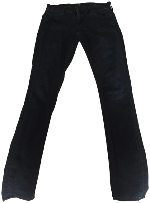 7 For All Mankind Jeggings-Dark Rinse Image 4