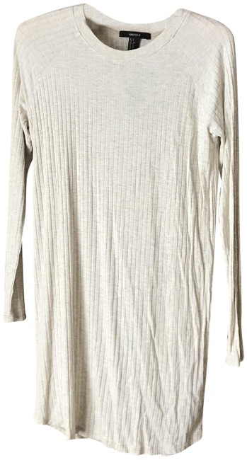 Item - Oatmeal Longsleeve Short Casual Dress Size 4 (S)