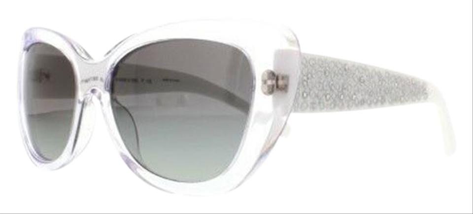 d27e581888bf Coach Crystal White Frame & Grey Gradient Lens Hc8143b 531611 Cat ...