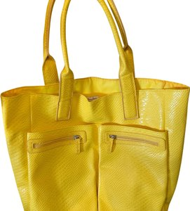 90f8e5d8a Added to Shopping Bag. Neiman Marcus Tote in Yellow