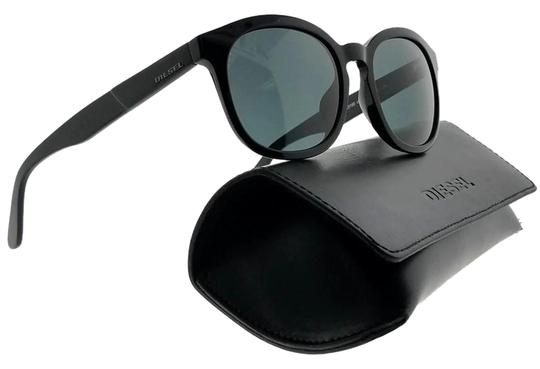 Preload https://img-static.tradesy.com/item/24807899/diesel-black-frame-dl0190-01n-52-oval-unisex-green-lens-genuine-sunglasses-0-1-540-540.jpg