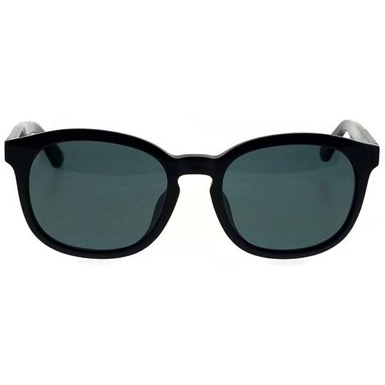 Diesel DL0190-01N-52 Oval Unisex Black Frame Green Lens Genuine Sunglasses Image 2