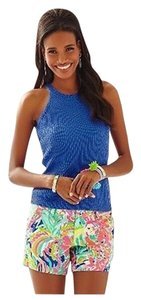 Lilly Pulitzer New With Tags Estee Sweater Knit Top Blue