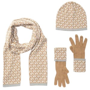 Michael Kors Michael Kors logo muffler, hat and gloves set