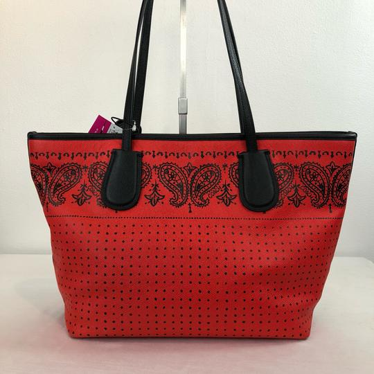 Coach Tote in Red Image 3