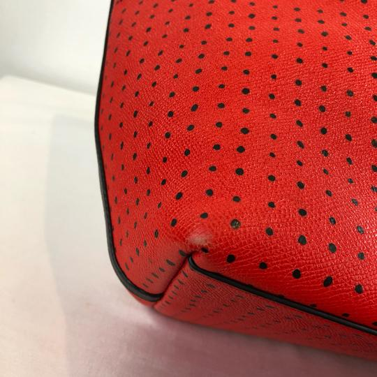 Coach Tote in Red Image 6