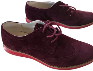 Cole Haan burgundy/red Flats