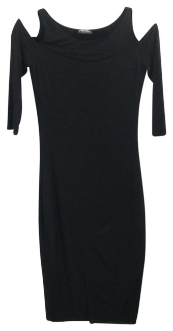 Preload https://img-static.tradesy.com/item/24808038/bailey-44-black-cold-shoulder-boatneck-bodycon-mid-length-night-out-dress-size-0-xs-0-1-650-650.jpg