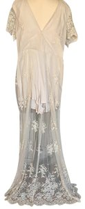 Natural/Beige Maxi Dress by Lush