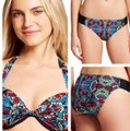 Mossimo Supply Co. Mossimo Supply Co. geometric push-up bikini Image 4