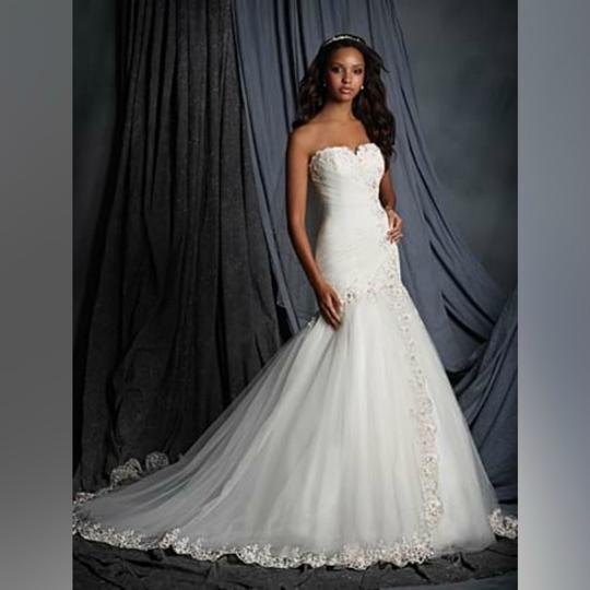 Alfred Angelo Ivory Rose Sweetheart