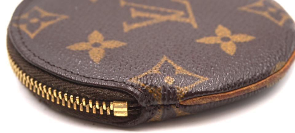 930f4ba6d48f Louis Vuitton Rare Round zip around Coin Purse change case wallet Image 8.  123456789