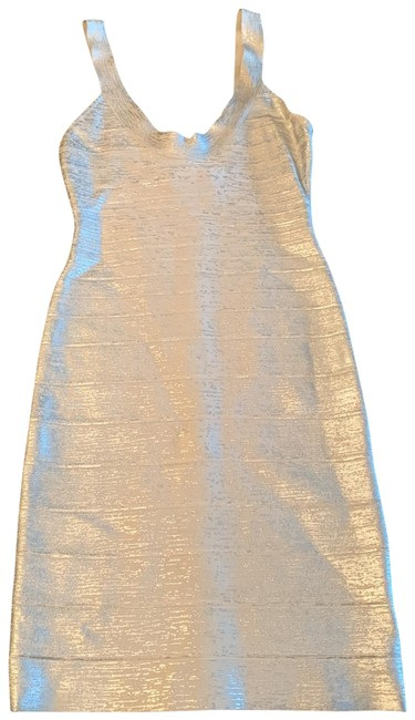 Item - Silver 00234118 Mid-length Night Out Dress Size 8 (M)