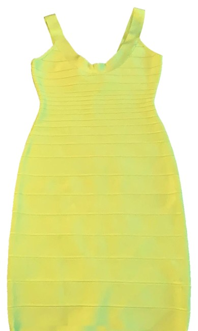 Item - Lime 00208066 Mid-length Night Out Dress Size 8 (M)