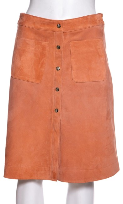 Item - Coral Suede 36 Skirt Size 6 (S, 28)
