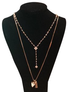 Henri Bendel pair of iconic necklaces