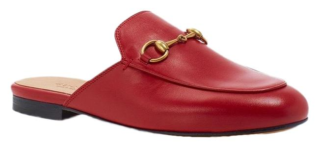 Item - Red Women's Princetown Leather Mules Flats Size EU 41 (Approx. US 11) Regular (M, B)
