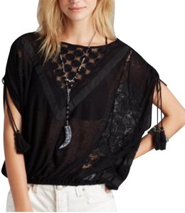 948f42c2e95f44 Black Free People Blouses - Up to 70% off a Tradesy (Page 3)