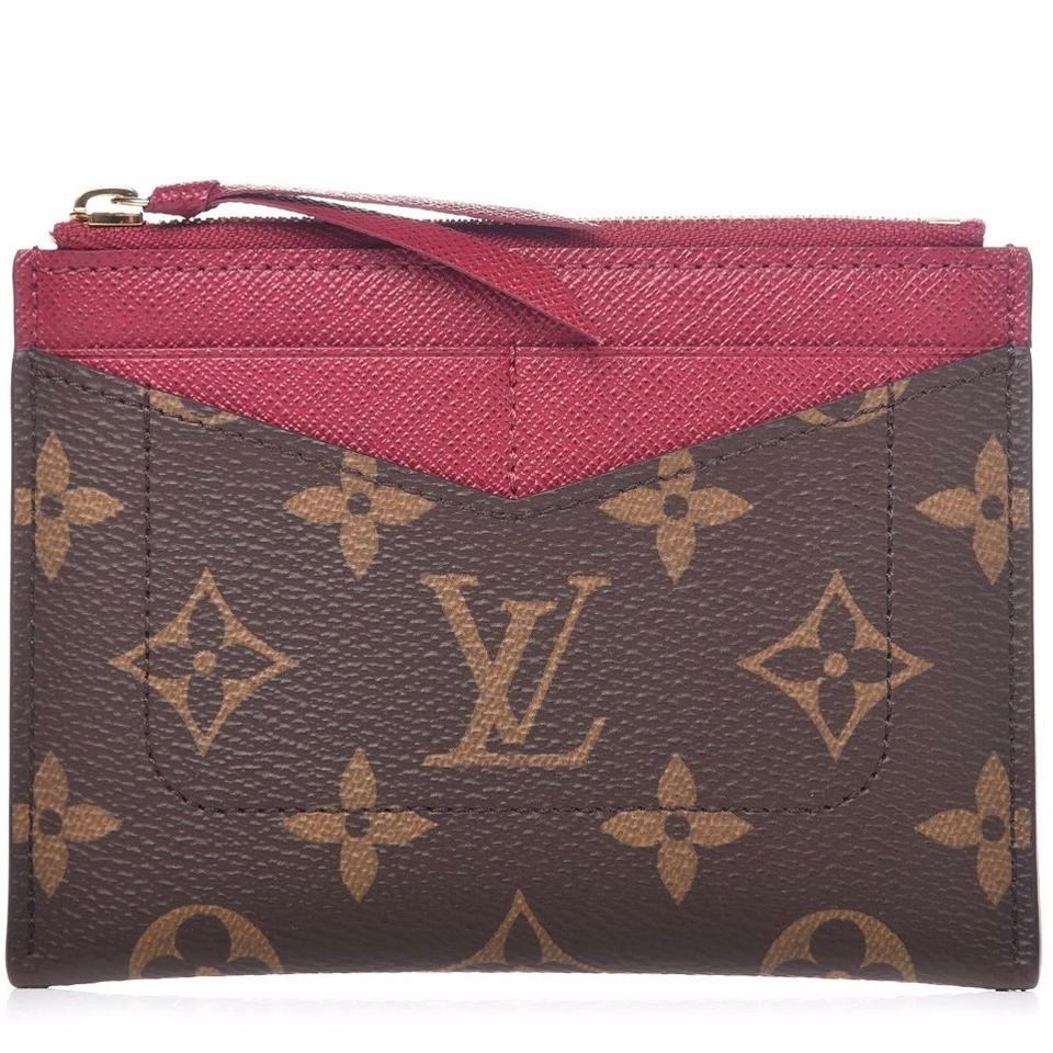 bcc2a34e Louis Vuitton Monogram Zipped Card Holder Wallet 21% off retail