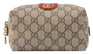 Gucci Ophidia GG cosmetic case beige