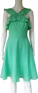 Banana Republic short dress Green Cotton Lightweight on Tradesy