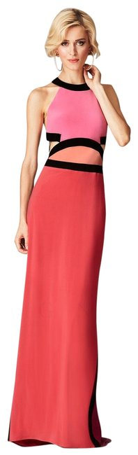 Item - Peony Sleeveless Colorblock Cutout Gown Long Formal Dress Size 14 (L)