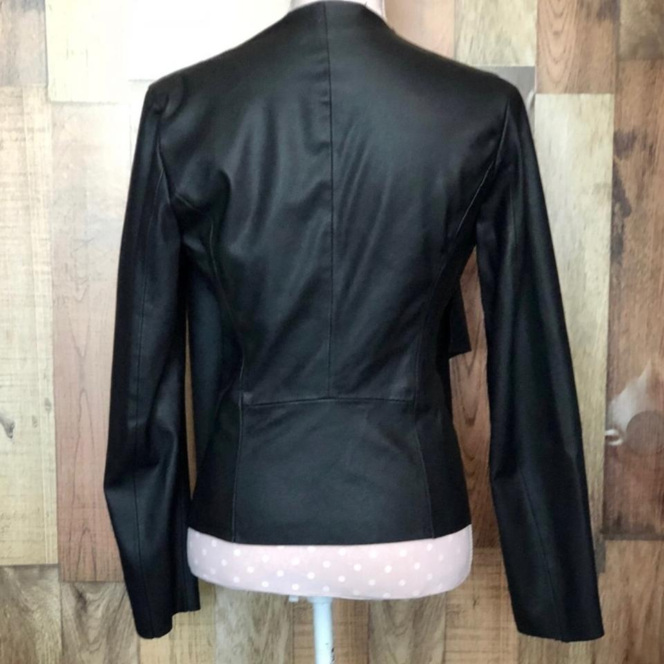 2a46daeb Black Faux Jacket