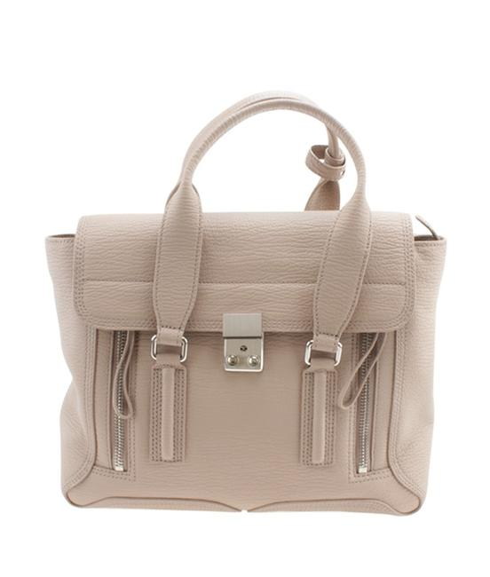 Item - Pashli Pebbled 2-way (165334) Beige Leather Shoulder Bag