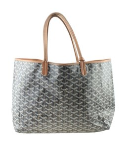Goyard Canvas Tote in Black