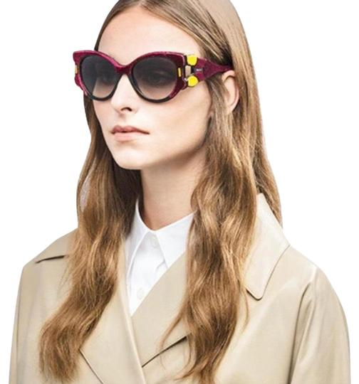 Preload https://img-static.tradesy.com/item/24811505/prada-black-frame-with-burgundy-and-yellow-velvet-tapestry-special-edition-sunglasses-0-3-540-540.jpg