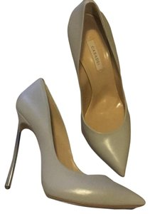 Casadei Ice Blue Toned Grey Pumps