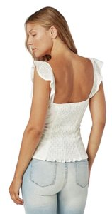 JustFab Top White