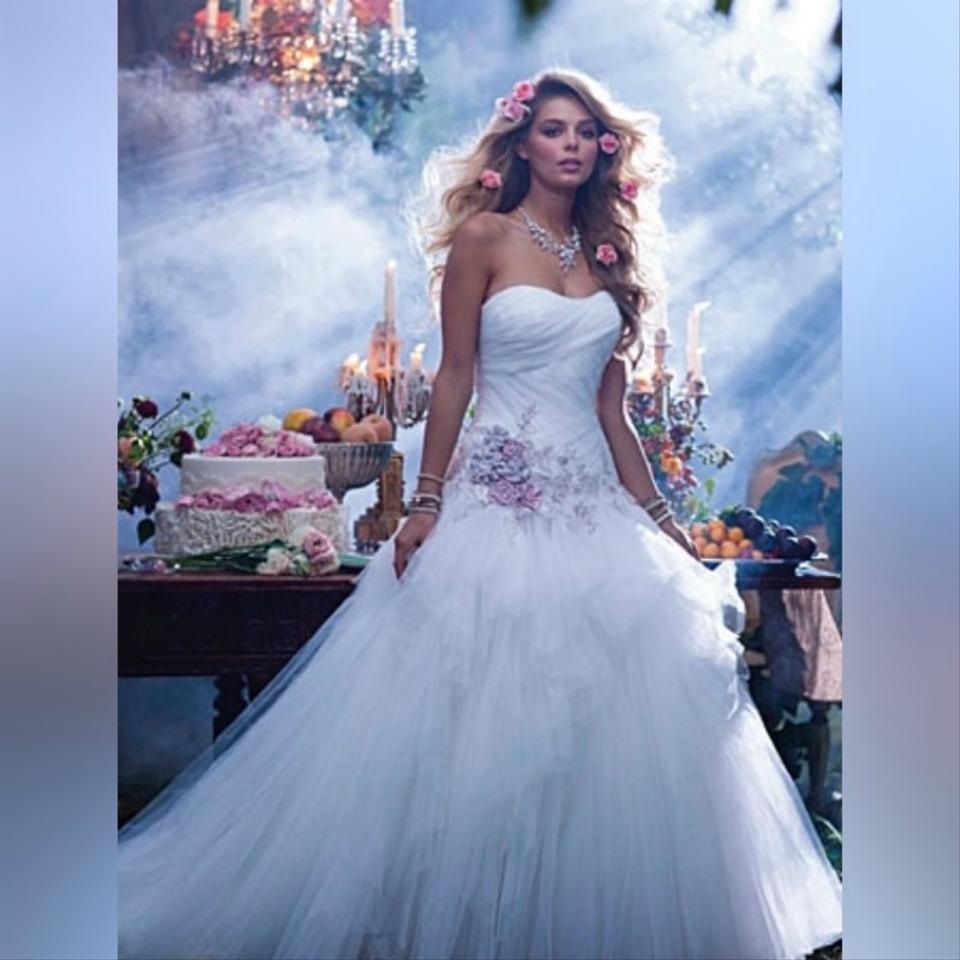 Weddings Beauty And Attire: Alfred Angelo White/Dusk Sleeping Beauty's Fairy Tale
