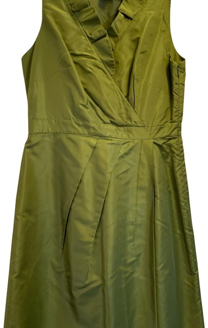 Item - Green Blakely Mid-length Cocktail Dress Size 4 (S)