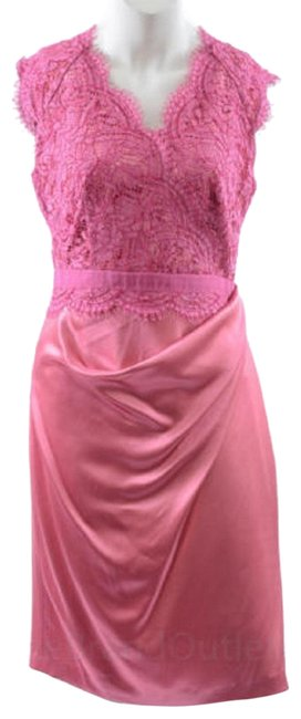Preload https://img-static.tradesy.com/item/24812139/talbot-runhof-pink-cotton-lace-and-crepe-satin-mid-length-cocktail-dress-size-10-m-0-1-650-650.jpg