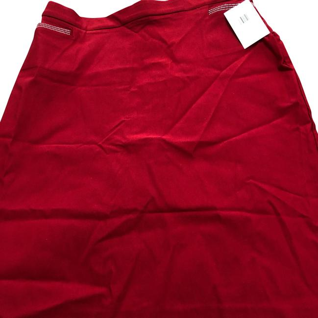 Item - Red Skirt Size 12 (L, 32, 33)